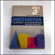 Matemática Curso Moderno para os Ginásios - 3º Volume