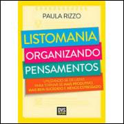 Listomania - Organizando Pensamentos - Paula Rizzo