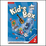 Kids Box American English Level 2 Workbook - sem Cd
