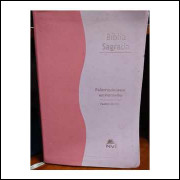 A Bíblia Sagrada Nvi - Palavras de Jesus Em Vermelho