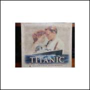 Titanic - Box Com 2 Fitas Vhs e Fotos Exclusivas