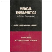 Medical Therapeutics  - a Pocket Companion