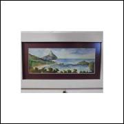 Aquarela Corcovado - Pintura Medindo 25 x 10