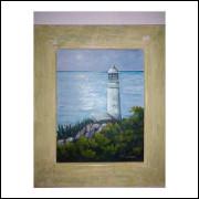 Farol do Arraial do Cabo Rj - Pintura 27cm x 35cm