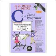 C++ Como Programar - Apresentando Projeto Orientado a Objeto Com Uml