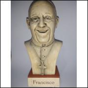 Busto Colecionável Papa Francisco