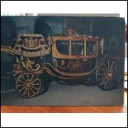 Cartão Postal Carruagem da Coroa - Século XIX Museu Nacional dos Coches Lisboa