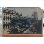 Cartão Postal - Foto Avenida Rio Branco 1983 - Rio de Janeiro