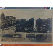 Cartão Postal - Foto Adolf Hitler Platz - Köln a Rhein