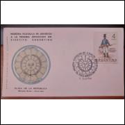 Primeira Exposição do Exército Argentino 1964 - Envelope Cartão