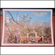 Cartão Postal Harvard University Cambridge