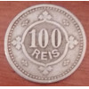Moeda 100 Réis 1900 - Moeda Portuguesa