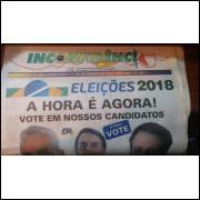 Jornal Inconfidência Ano XXIV Nº 256 Eleições 2018