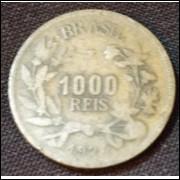 Moeda 1000 Reis 1924