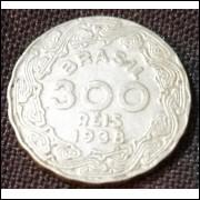 Moeda 300 Reis 1938