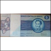 Cédula 5 Cruzeiros - Dom Pedro I