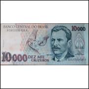 Cédula 10 Mil Cruzeiros - Vital Brazil