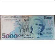 Cédula 5 Mil Cruzeiros - Carlos Gomes