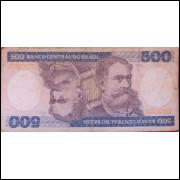 Cédula 500 Cruzeiros - Marechal Deodoro da Fonseca