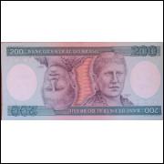 Cédula 200 Cruzeiros - Princesa Isabel