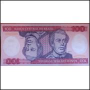 Cédula 100 Cem Cruzeiros - Duque de Caxias