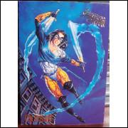 Card Coldheart - Fleer Ultra Spider-Man