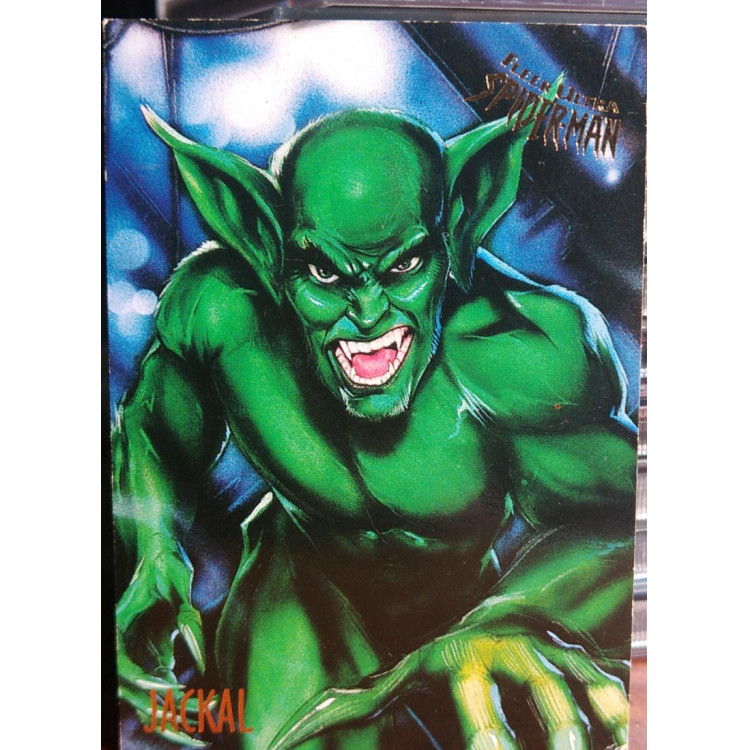 Card Jackal - Fleer Ultra Spiderman