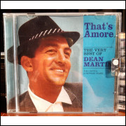 CD Thats Amore - The Very Best of Dean Martin - The Capitol e Reprise Years