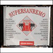 CD Duplo Importado Supersanremo 94 - Versioni Originali