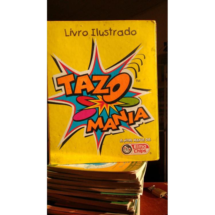 Livro Ilustrado Tazo Mania - Acompanha 154 Tazos Diversos