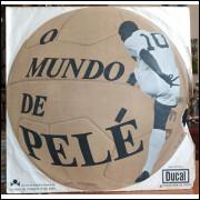 Disco Vinil O Mundo de Pelé