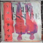 Disco Vinil Public Pressure - Yellow Magic Orchestra - Importado Japão