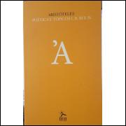 Aristóteles - Poética e Tópicos I, Ii, III e IV